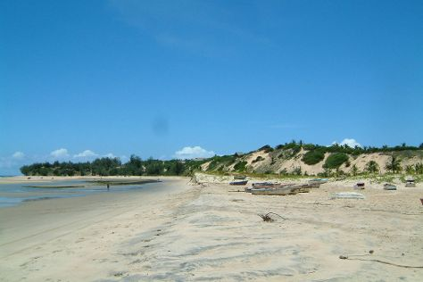 Barra Beach, Inhambane Province, Mozambique