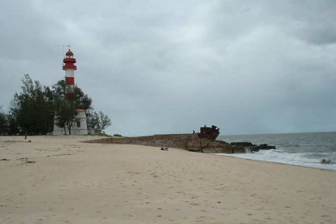 Macuti Lighthouse and Shipwreck, Beira, Mozambique