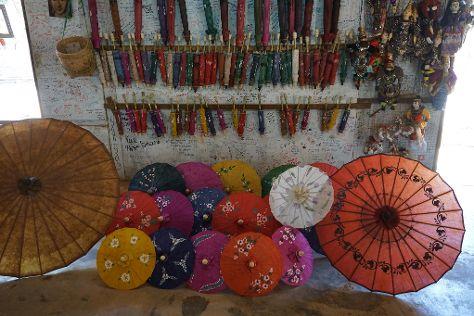 Aung Umbrella, Pindaya, Myanmar