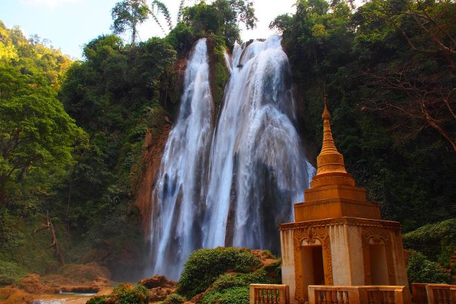 Anisakan Falls, Pyin Oo Lwin (Maymyo), Myanmar