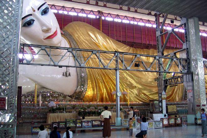 Chaukhtatgyi Buddha, Yangon (Rangoon), Myanmar