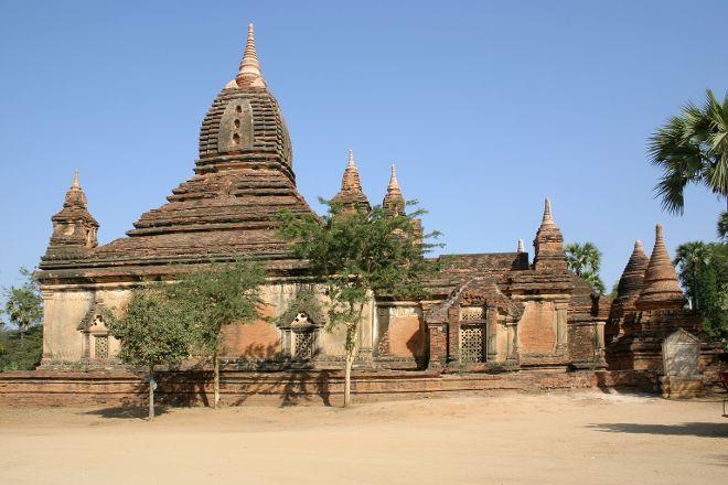 Gubyaukgyi Temple, Bagan, Myanmar