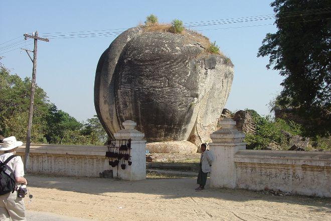 Lions of Stone, Mingun, Myanmar