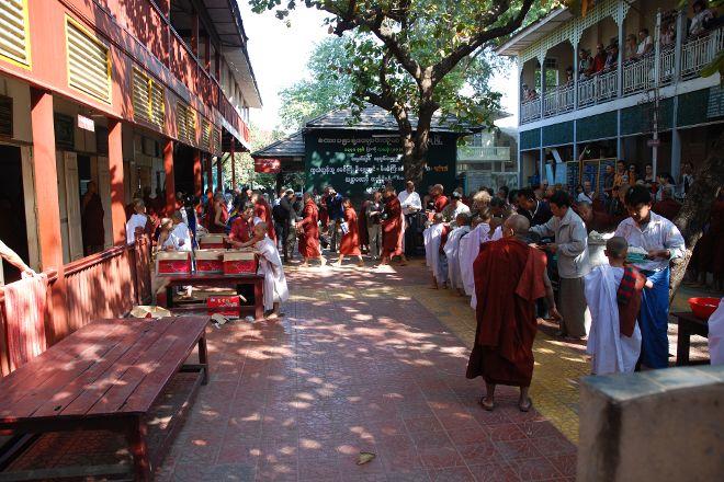Mahagandayon Monastery, Amarapura, Myanmar