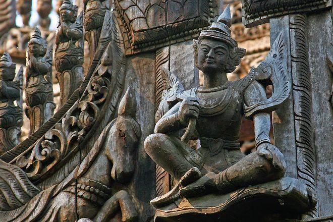 Shwenandaw Monastery, Mandalay, Myanmar