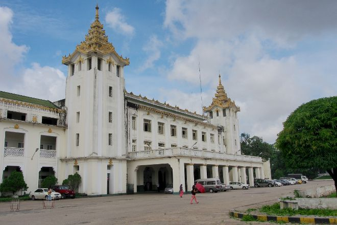 Yangon Central Railway Station, Yangon (Rangoon), Myanmar