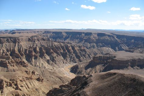 Fish River Canyon, Ais-Ais, Namibia