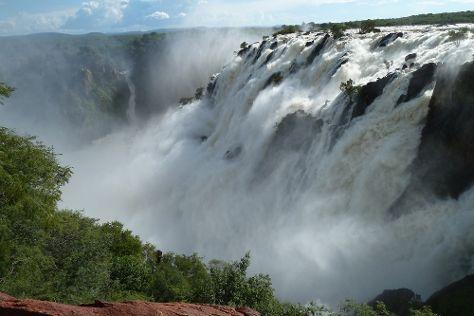 Ruacana Falls, Ruacana, Namibia