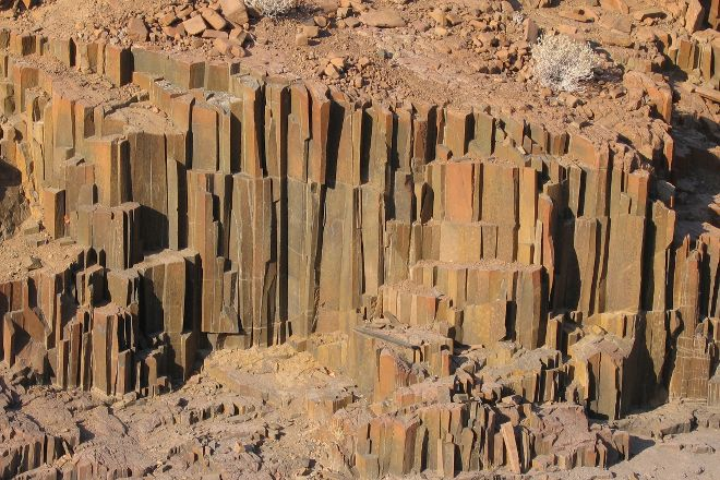 Organ Pipes, Khorixas, Namibia