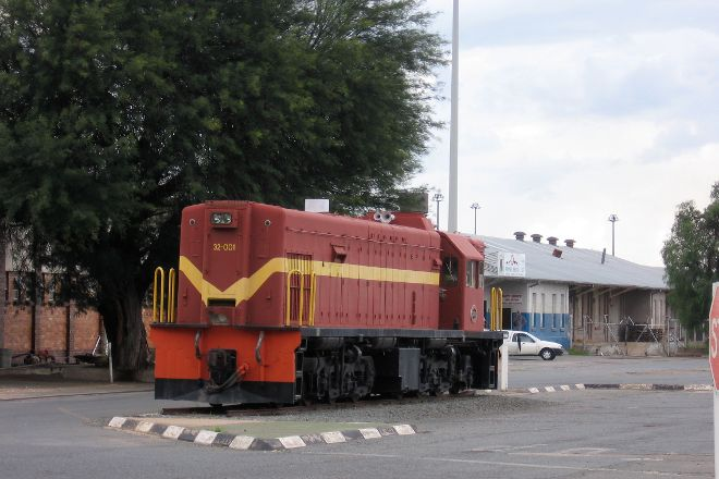 Trans-Namib Railroad Museum, Windhoek, Namibia