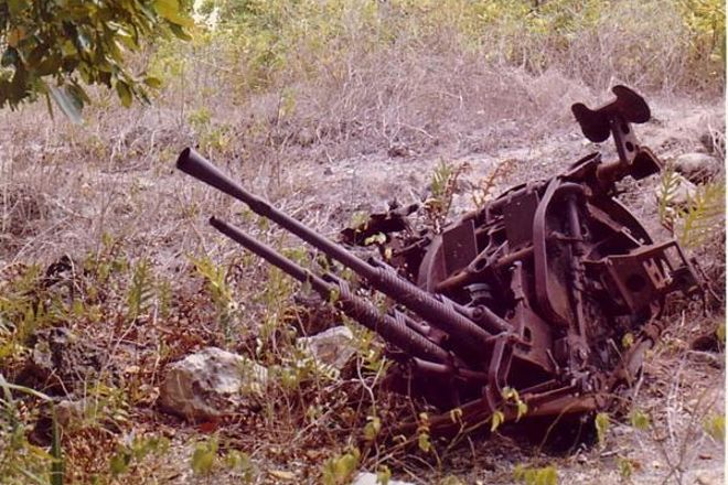 Japanese Guns, Yaren, Nauru