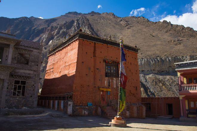 Kag Chode Thupten Samphel Ling Monastery, Kagbeni, Nepal