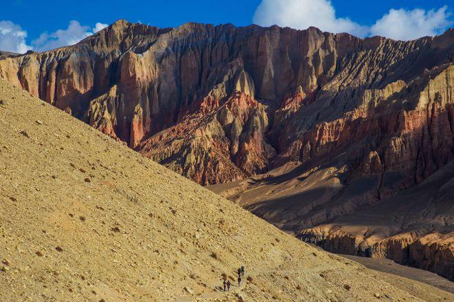 Red Cliffs, Mustang Region, Nepal