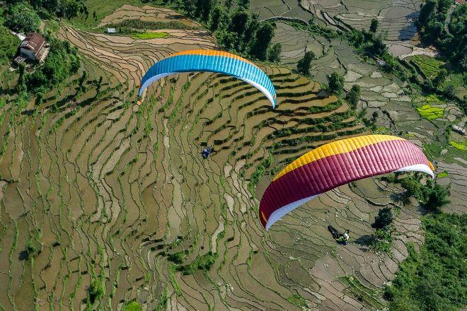 Sunrise Paragliding, Pokhara, Nepal