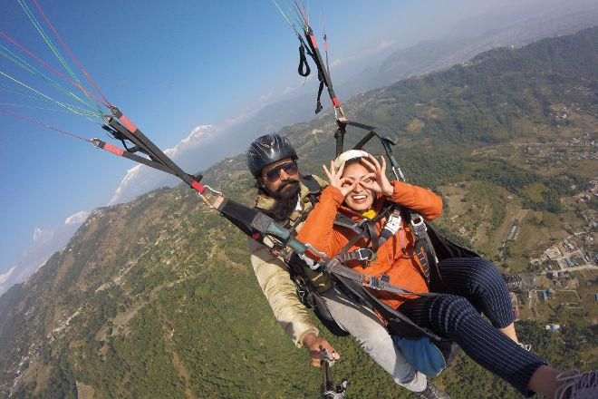 Team 5 Nepal Paragliding, Pokhara, Nepal