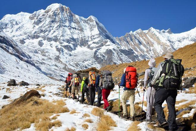 Trek to Nepal, Kathmandu, Nepal