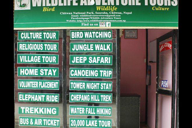 Wildlife Adventure Tours, Chitwan National Park, Nepal