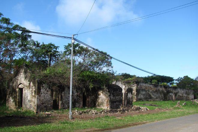 Vestiges du Bagne, Ile Des Pins, New Caledonia