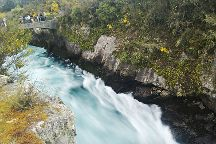 Huka Falls Walkway, Taupo, New Zealand