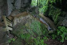 Mangapohue Natural Bridge Walk, Waitomo Caves, New Zealand