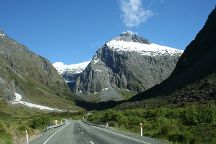 Milford sound Hwy, Milford Sound, New Zealand