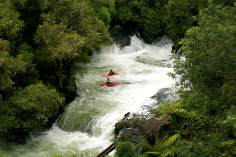 Kaituna Kayaks, Okere Falls, New Zealand