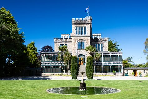 Larnach Castle & Gardens, Dunedin, New Zealand