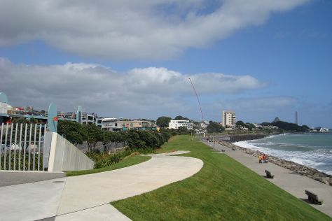 New Plymouth Coastal Walkway, New Plymouth, New Zealand