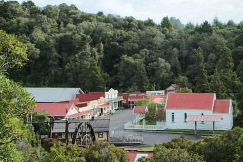 Shantytown Heritage Park, Greymouth, New Zealand