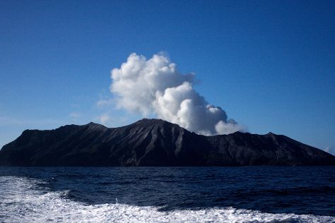 Whakaari White Island Volcano, Bay of Plenty Region, New Zealand