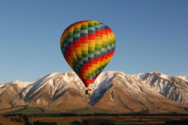Ballooning Canterbury - Ballonvaarten met hete lucht, Darfield, Nieuw-Zeeland