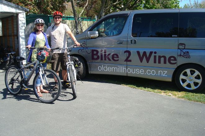 Bike 2 Wine, Renwick, New Zealand