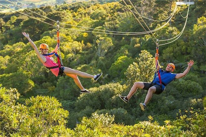 EcoZip Adventures, Oneroa, New Zealand