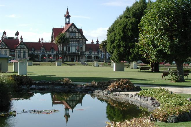 Government Gardens, Rotorua, New Zealand
