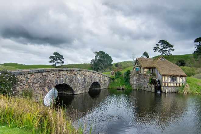 Hobbiton Movie Set, Hinuera, New Zealand