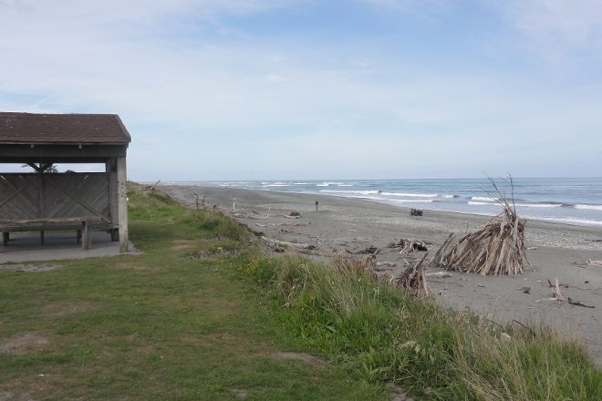 Hokitika Beach, Hokitika, New Zealand