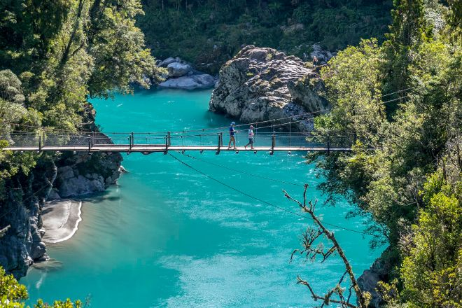 Hokitika Gorge Walk, Hokitika, New Zealand