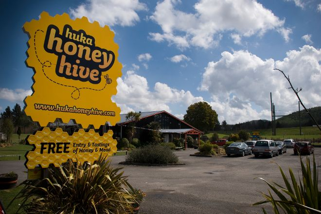 Huka Honey Hive, Taupo, New Zealand