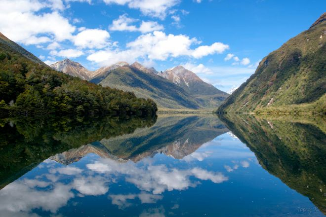 Lake Gunn, Fiordland National Park, New Zealand