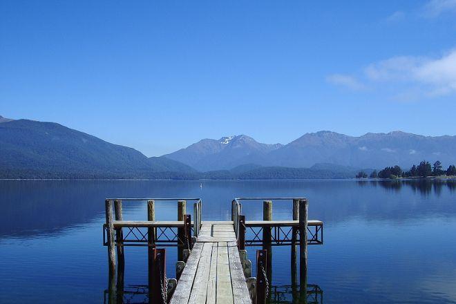 Lake Te Anau, Te Anau, New Zealand