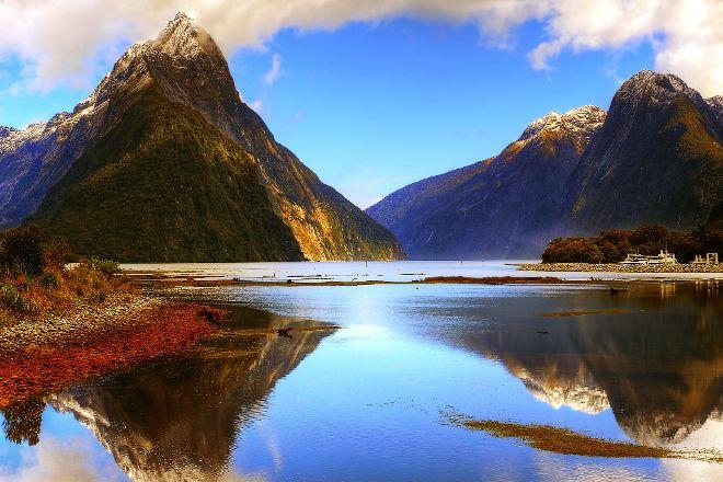 Milford Sound, Te Anau, New Zealand