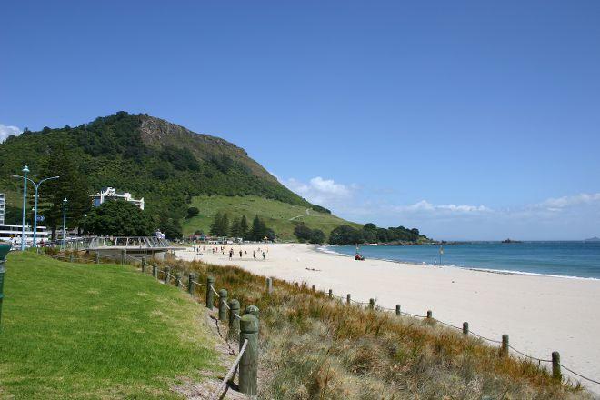 Mt Maunganui Main Beach, Mount Maunganui, New Zealand