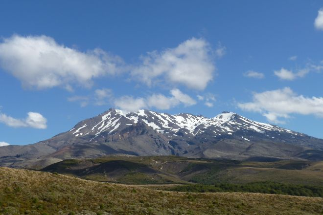 Mount Ruapehu, Tongariro National Park, New Zealand