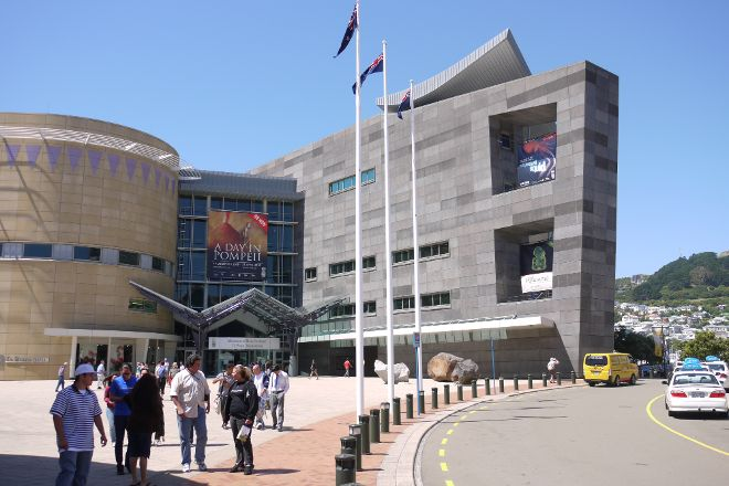 Museum of New Zealand Te Papa Tongarewa, Wellington, New Zealand
