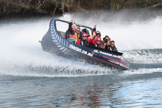 New Zealand Riverjet, Rotorua, New Zealand