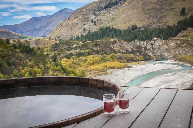 Onsen Hot Pools Retreat & Day Spa, Queenstown, New Zealand