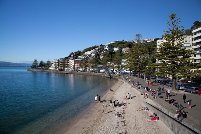 Oriental Bay, Wellington, New Zealand