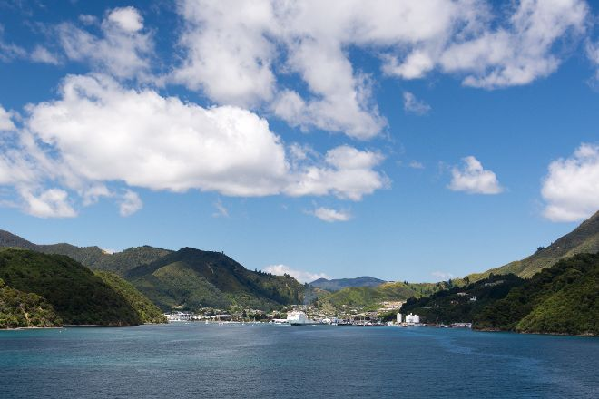 Picton Sound, Picton, New Zealand