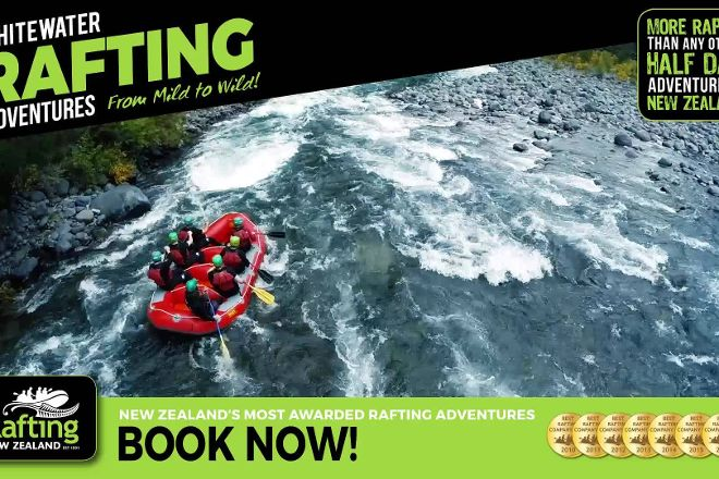 Rafting New Zealand, Turangi, New Zealand