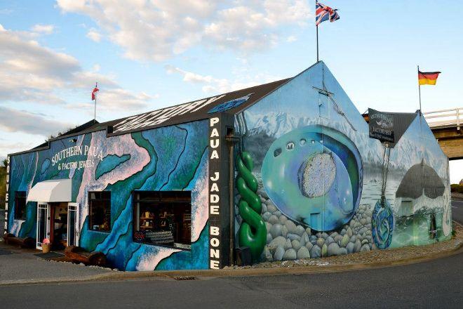 Southern Paua Shop & Factory, Kaikoura, New Zealand